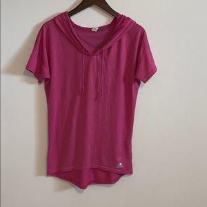 🌹2/15$🌹 Adidas Climalite Pink Top